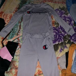 Champion jogger outfit